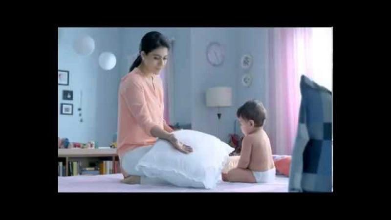 Baby Anaya Bohra and Kajol Commercial of Huggies