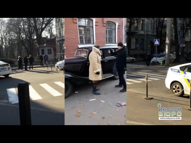 Невідомі розгромили декорації під час зйомок військового серіалу