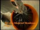 Thi công chống thấm sàn mái Bê tông Sikaproof Membrane Sika Latex