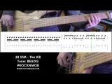 Bass lesson (tutorial/tabs) 30 Seconds to Mars - The Kill (Rocknmob)