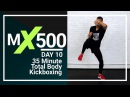 35 Minute 500 Calories Fat Burning Kickboxing Cardio HIIT Workout for Women & Men  MX500 #10