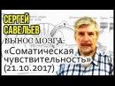 ВЫНОС МОЗГА 15 Соматическая чувствительность 21 10 2017 Савельев С В