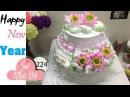 Cách Làm Bánh Kem Đơn Giản Đẹp ( 224 ) Cake Icing Tutorials Buttercream ( 224 )