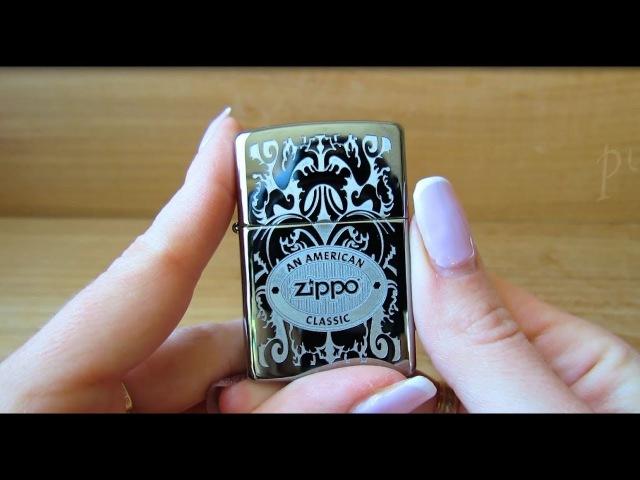 Зажигалка Zippo 24751 An American Classic (Видео обзор) podarki-odessa.com
