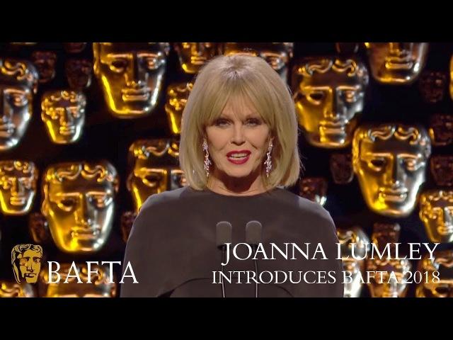 The FABULOUS Joanna Lumley introduces the BAFTAs The British Academy Film Awards 2018 BBC One