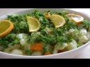 Супер вкусный салат из топинамбур. Yer elması yemeği.Как приготовить земляную грушу?