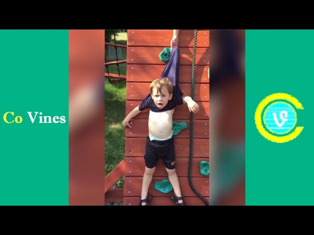 Try Not To Laugh Watching Funny Kids Fails Compilation April 2017 2 - Co Vines✔