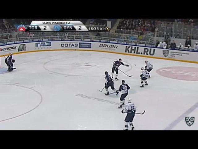 Моменты из матчей КХЛ сезона 16 17 Гол 2 3 Максим Карпов Динамо принёс москвичам третью победу 27 02