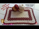 👊 Tapete Rubi Precioso do Ocidente sem Flores - Pink Artes Croche by Rosana Recchia