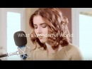 WHAT A WONDERFUL WORLD. - Louie Armstrong Cover by Abby Ward