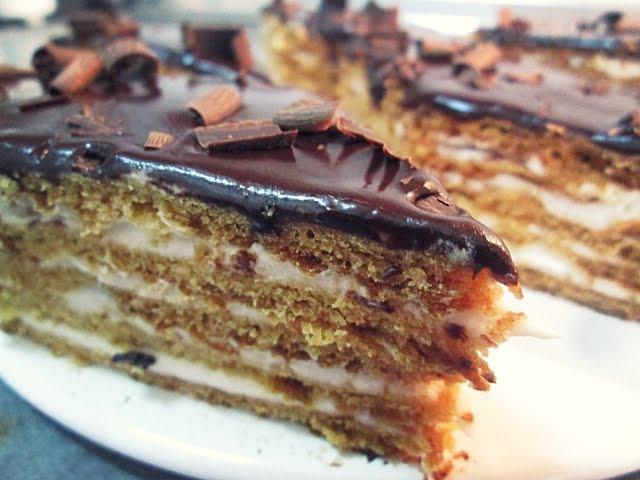 Торт ПТИЧЬЕ МОЛОКО без суфле Армянский рецепт от Inga Avak