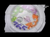 CASIO Baby-G Neon Dial Series BGA-131-7B3JF