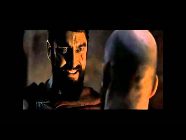 No retreat. No Surrender. That is Spartan law - 300