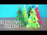3D Christmas Tree Craft