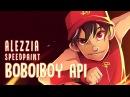02 Speedpaint | Boboiboy Api (Galaxy) ★