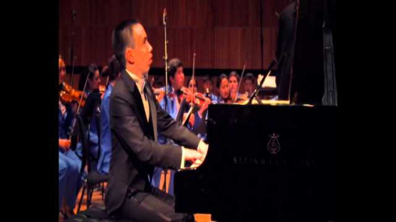 Rakhat-Bi Abdyssagin Kazakh rhapsody for piano and symphony orchestra