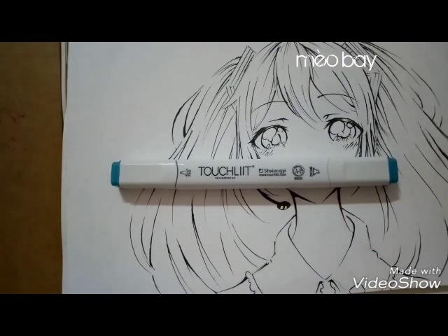 Vẽ Hatsune Miku - How to draw Hatsune Miku
