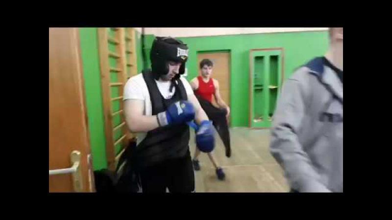 Финальный бой Чемпионата Тверской области по Ушу-Саньда