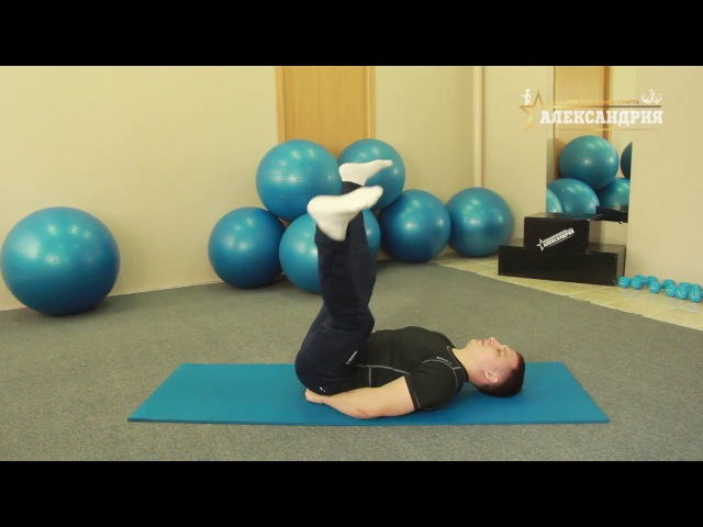 Тренируем приводящие - внутренняя поверхность бедра (мышцы тазового дна), пресс!