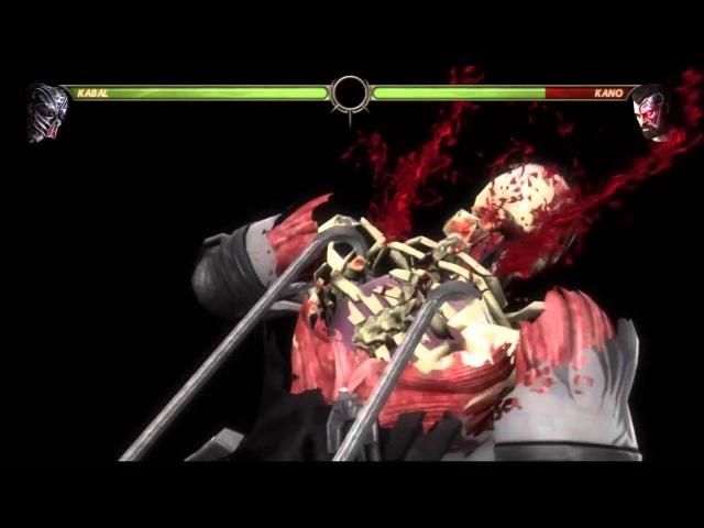 Mortal Kombat 9 (2011) Kabal X-Ray