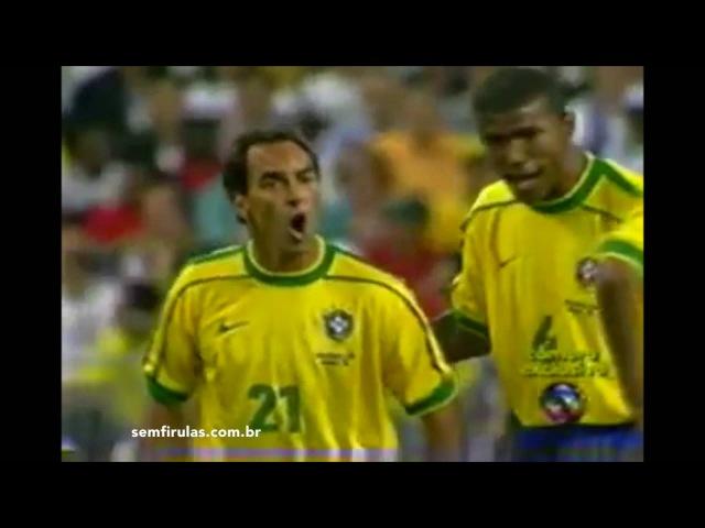 Fair Play de Rivaldo x Desespero de Edmundo - Copa de 1998