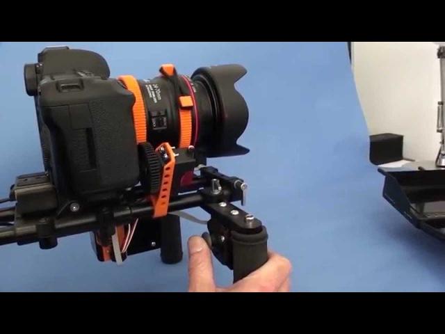 The EZ-1. Wireless Follow focus, Power Zoom, Pan, Tilt and Roll.
