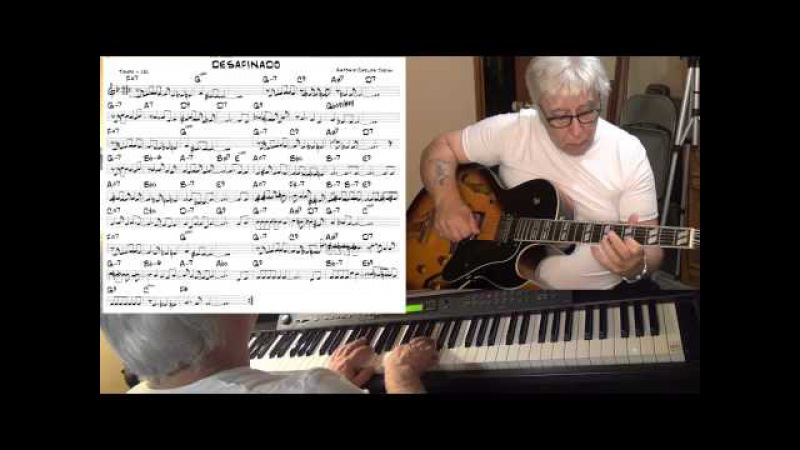 Desafinado guitar piano jazz latin cover Antonio Carlos Jobim Yvan Jacques
