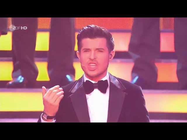 Red Army Choir Vincent Niclo - Fortune Plango Vulnera - from Carmina Burana - Show ZDF HD
