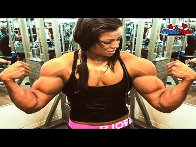 Muscle GIRL WORKOUT - Sophie Arvebrink - SUPER STRONG GIRL - Fitness Motivation 2018