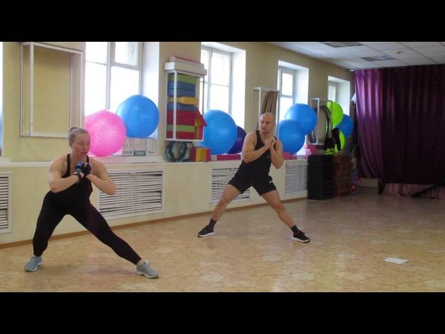 Фитнес тренировка, обучение инструкторов по фитнесу, г.Омск, Фитнес клуб Лотос