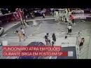Durante briga frentista atira em foliões e mata dois em posto de gasolina em São Paulo
