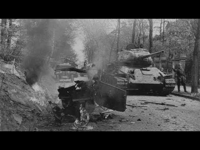 Один танк Т-34 в тылу фашистов! Невероятный подвиг экипажа Т-34 Степана Горобца.
