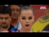 Арина Аверина - булавы (квалификация) // Гран-При Москва 2018