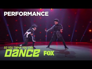 Mark & Comfort's Hip Hop Performance | Season 14 Ep. 12 | SO YOU THINK YOU CAN DANCE