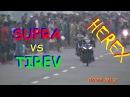 GILA Detik Detik SUPRA Buat TIGER Tak BERKUTIK - Balap Liar HEREX | Drag Bike Mojoagung