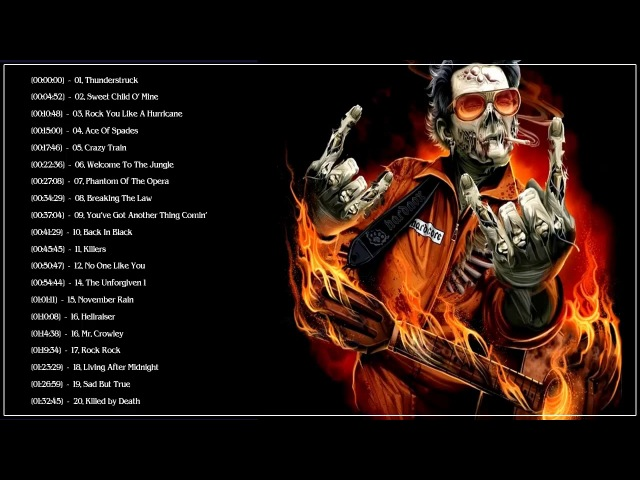Best Hard Rock Songs Of All Time | Greatest Hard Rock Songs The 70's 80's 90's By Great Bands