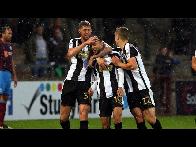 Scunthorpe 3-3 Notts County AET (6-5 pens)