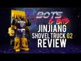 JinJiang Shovel Truck G2 Yellow KO Generation Toys GT-01A Scraper