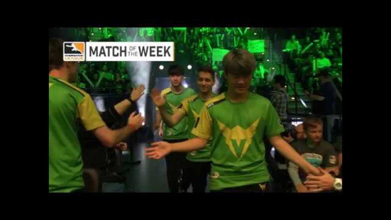 London Spitfire vs Los Angeles Valiant — Match of the Week