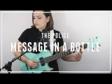 The Police - Message in a Bottle Cover by Mary Spender