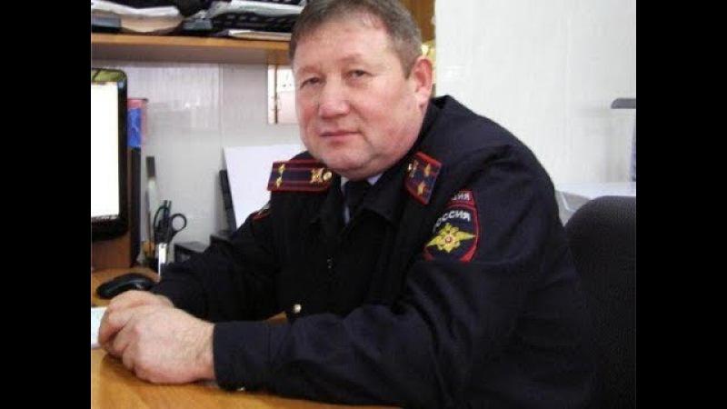 Пьяный подполковник полиции за рулём