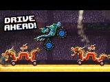 БЕЗУМНЫЕ гонки БИТВА ДРАКОНОВ Мульт игра для детей про СРАЖЕНИЕ ТАЧЕК Drive Ahead
