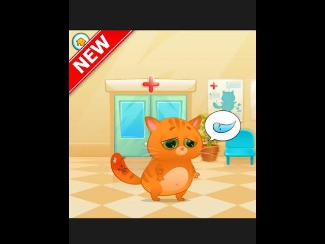 My virtual pet Kitty Bubu Cartoon game 2017 Treating the tail 3 episode