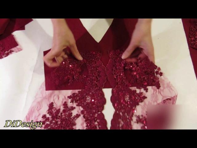 ШЬЁМ ДЛИННОЕ ДЕТСКОЕ ПЛАТЬЕ Ч.1 ( КОРСЕТ) szyjemy modną sukienkę na dziewczynkę