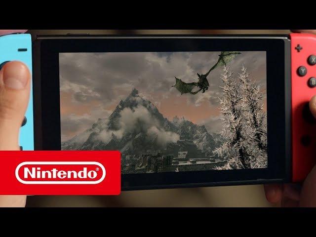 The Elder Scrolls V: Skyrim® — релизный трейлер (Nintendo Switch)