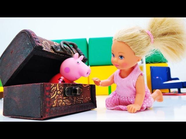 Штеффи нашла волшебную шкатулку. Видео для девочек