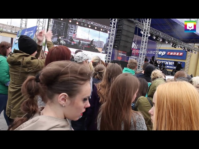 День рождения ТРЦ Европа. Группа Градусы