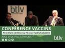 VACCINS Conférence du Pr Henri Joyeux du Pr Luc Montagnier avec