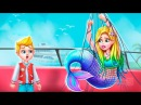 Mermaid Secret High School Love Story 1 - First Emergency Rescue - Fun Gameplay For Girl