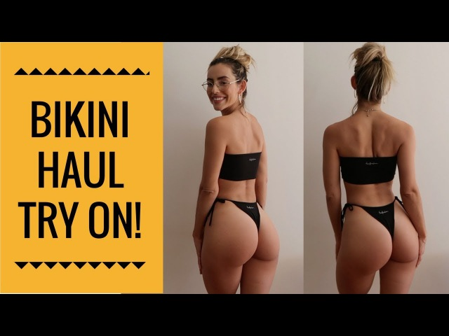 BIKINI HAUL TRY ON SECRET FOR LONG LEGS )
